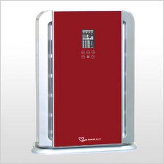دستگاه تصفیه هوا مدل XJ4800 مجهز به پیشرفته ترین فیلترهای تصفیه هوا می باشد .این مدل از دستگاههای تصفیه هوا دارای فیلتر اولیه جذب ذرات معلق ، فیلترهای سه لایه ، فیلتر کربن اکتیو ، ژنراتورپلاسما (یون ساز منفی ومثبت)،فیلترنانو ، فوتوکاتالیست ، فیلتر ویتامینC فیلترCATECHIN ولامپ UV می باشد. این دستگاه مجهزبه ریموت کنترل ، سنسورکیفیت هوا ، پنل لمسی، زمان سنج و حالتهای مختلف کارکرد می باشد. دستگاه تصفیه هوا مدلXJ4800 محیط را ازکلیه آلایندها ، عوامل بیماری زا ،عوامل آلرژی زا ، گازی سمی ، گرد وغبار وذرات معلق تا 97/99% را دارد و می تواند ذرات بسیارریزبه اندازه 0.3 میکرون را فیلترکند. این مدل دستگاه تصفیه هوا جهت استفاده در ادارات ، فروشگاهها،منازل و ... توصیه می شود. کارکرد و ویژگیها فیلتر HEPA با کارایی بالا: تصفیۀ هوا از دود و ذرات معلق به اندازۀ 0.3 میکرون. میزان تصفیه 99 درصد است. فیلتر کربن فعال شده: جذب کنندۀ دود، فرمالدهید، اتانتیول، آمونیا و بسیاری از گازهای مضر و بودار نامطلوب دیگر. فیلتر دئودرانت فوتوکاتالیست: توانایی تجزیۀ سریع فرمالدهید، بنزن، تولن، سایکلن، و بسیاری دیگر از مواد و گازهای مضر و دارای بوهای نامطلوب، و نیز توانایی از بین بردن ویروسها و باکتریهای موجود در هوا را دارد. مولد پلاسمای سرد: دستگاه مجهز به مولد پلاسمای سرد است که می تواند مقادیر بسیار زیادی از یونهای مثبت و منفی را آزاد کند که منجر به تازه نمودن هوای محیطهای بسته می¬شود. لامپ فرابنفش ضد عفونی کننده: نور فرابنفش با طول موج 365 نانومتر توانایی زدودن گونه های مختلفی از باکتریها را دارد. حسگر ذرات معلق: قابلیت تشخیص گرد و غبار، دود و هر ذرۀ آلایندۀ دیگر سنسور بو: قابلیت تنظیم خودکار هوا با توجه به میزان آلودگی هوا. قابلیت تشخیص بوهای مختلف از سیگار تا آشپزی را دارد. ولتاژ: AC 220V/50-60Hz جریان اسمی هوا: 150-300 متر مکعب بر ساعت مقدار تولید یون منفی: 2,000,000/سانتی متر مکعب مقدار تولید اکسیژن فعال: 0.05 پی پی ام لامپ UV: 254nm