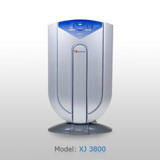دستگاه تصفیه هوا XJ3800 دارای تكنولوژی 7 مرحله ای برای حذف گرده، دود، باكتری، ویروس و... است. دستگاه تصفیه كننده هوای XJ3800 یكی دیگر از محصولات شركت Heaven Land تصفیه كننده هوایی است که به حسگرهای تكنولوژیكی اتوماتیك برای نظارت بر كیفیت هوا تجهیز شده است. حسگرهای موجود در دستگاه تصفیه هوا مدل XJ3800 حضور گرد و غبار را تشخیص می دهند. هنگامیكه این عملیات صورت گرفت چراغ LED نشان دهنده میزان آلودگی روشن می شود. دستگاه تصفیه هوا مدل XJ3800 دارای 7 تكنولوژی می باشد. یونیزه كننده، فیلتر HEPA ، فیلتر پلاسما، فیلتر كربن اكتیو ، لامپ میكروب كشUV، فیلتر Tio2 و فیلتر ذرات معلق. دستگاه تصفیه هوا مدل XJ3800 دارای یك فن قدرتمند آرام است.