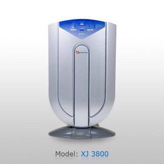 دستگاه بسيار قدرتمند و بيصدا XJ3800 محيط را از تمامي آلاينده ها پاك ميكند،اين مدل دستگاه داراي هفت فيلتر ميباشد و داراي ريموت كنترل است ، مجهز به سنسور است و اتومات عمل ميكند همچنين  داراي تايمر و آلارم جهت كثيفي و تعويض فيلتر ميباشد.